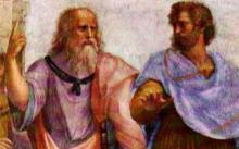 Raphael, Ecole d'Athènes (détail)